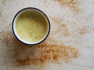 turmeric milk, golden milk latte