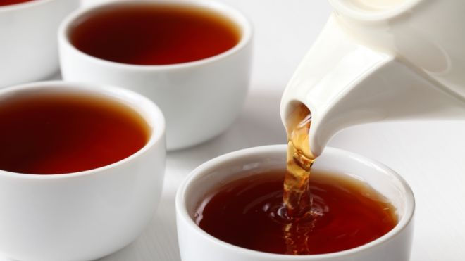 How many cups of tea?